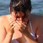 サークル合宿03 あの子はツンツン女子の水着と普段着