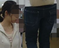 【FHD】お尻動画19 眼鏡美少女(まるでJK)のムチムチ尻 NEW