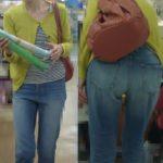 【FHD】お尻動画01 スタイル抜群のデニムパンツの巨尻子連れママを舐め回すように追っかけ撮影