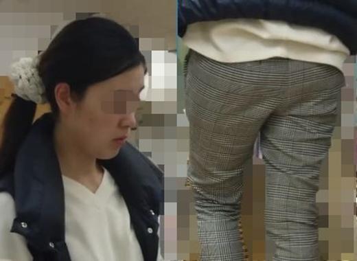 【FHD】お尻動画13 スタイル抜群だけどデカ尻が悩みな種の美人ママ