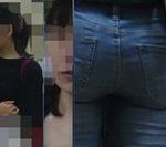 【フルHD】お尻動画05 デニムのお姉さん&ポニテお姉さん