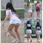 【スコートフェチ200枚】JCテニススコート画像アルバム1