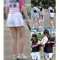 スコート女子テニス部エロ画像、スコート女子バドミントン部エロ画像とアンスコエロ画像パスワード08050