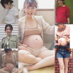 マタニティの写真13 めっちゃ美人の妊婦さんがミルクママになるまで NEW