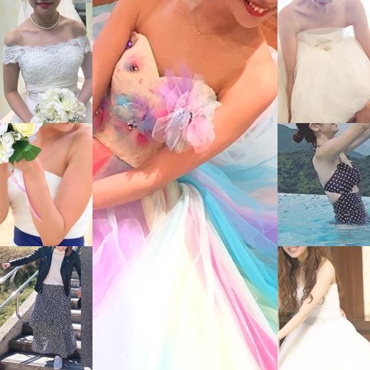 新婦さん36 かわいすぎる花嫁さん達